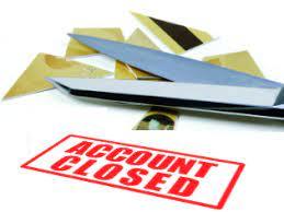 Bank Account Close